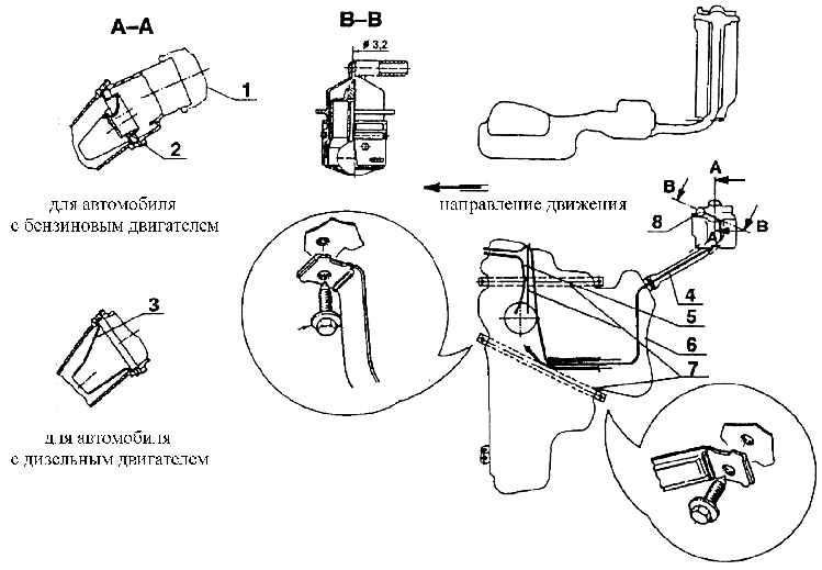 1 – пробка заливной горловины;