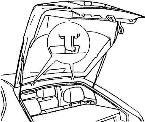 Крышка багажника